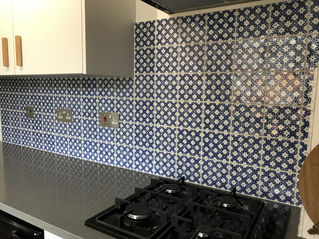 Handmade Winchester tiles in Sheffield