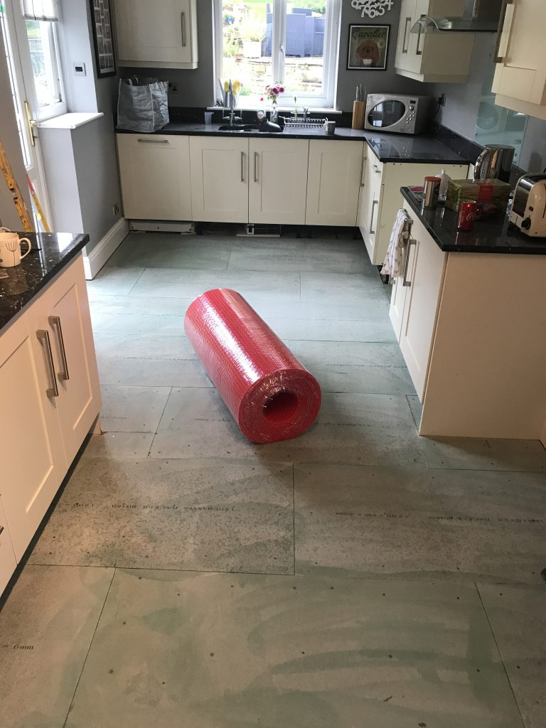 Warmup DCM PRO install by Andy Coldwell Tiling - Sheffield