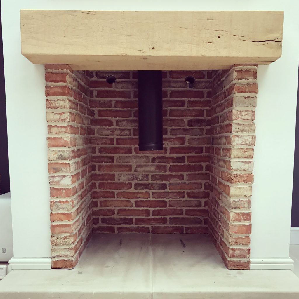 Reclaimed brick slips Derbyshire by Andy Coldwell
