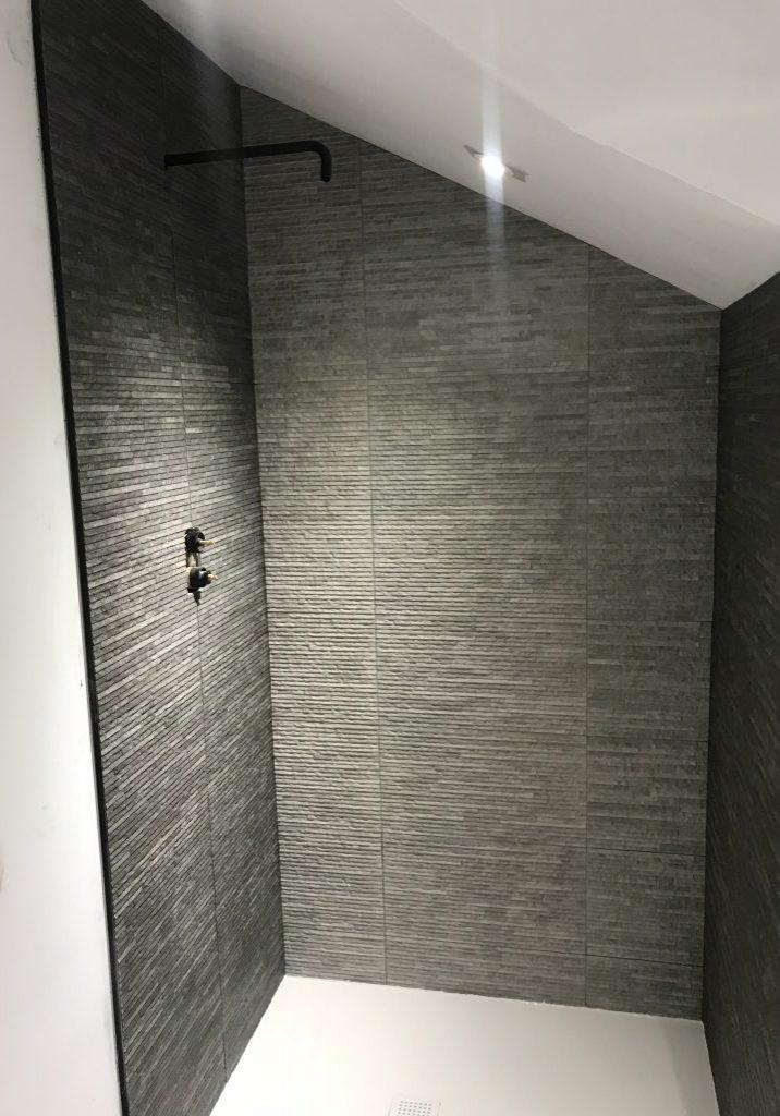 Textured grey proclain in Sheffield