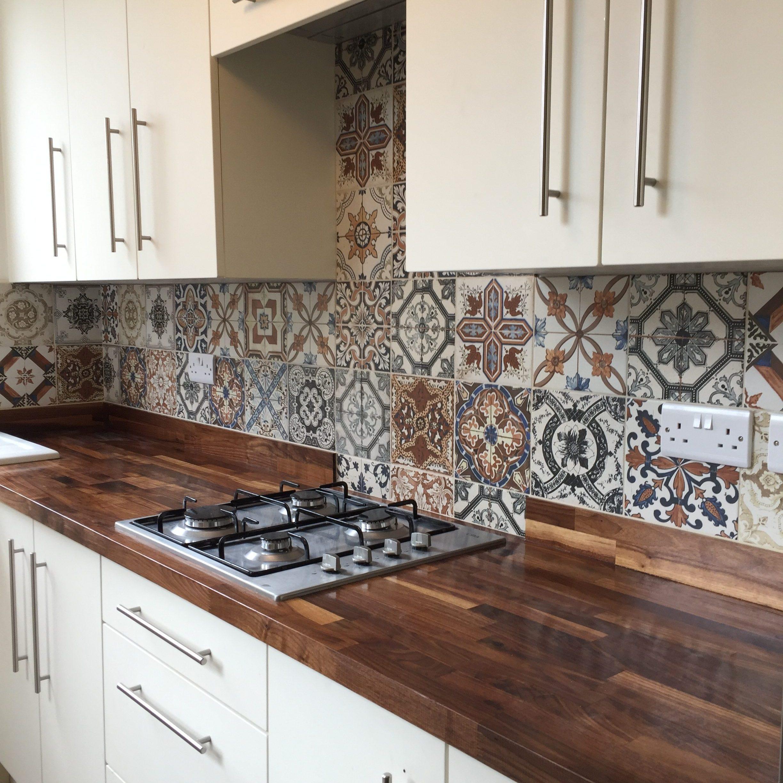 Miss match kitchen tiles
