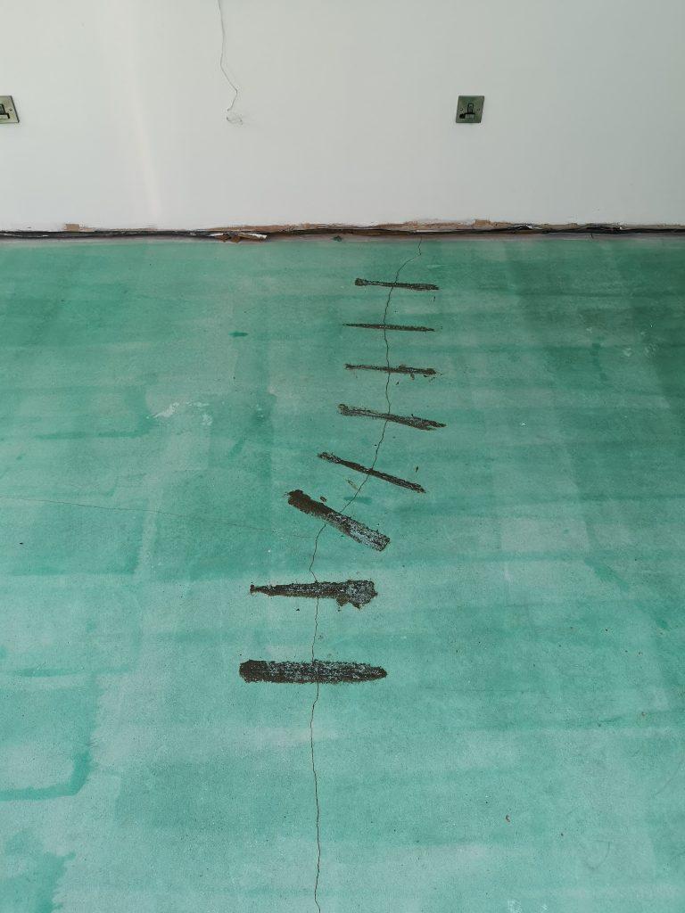 Resin crack repair in Sheffield
