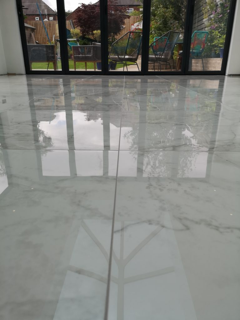 Epoxy grouting in Dronfield