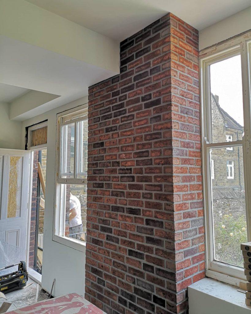 brick slip wall