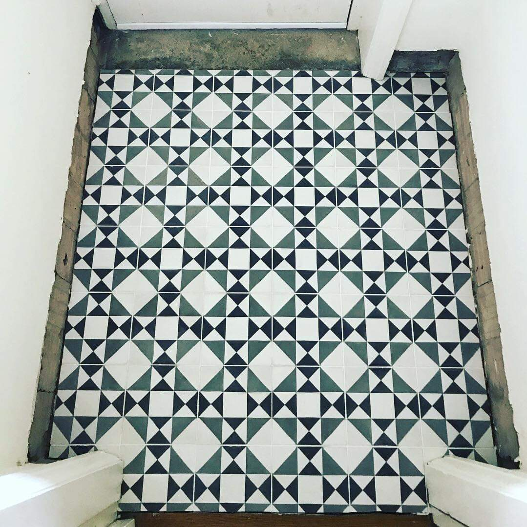 Encaustic floor tiler in Sheffield