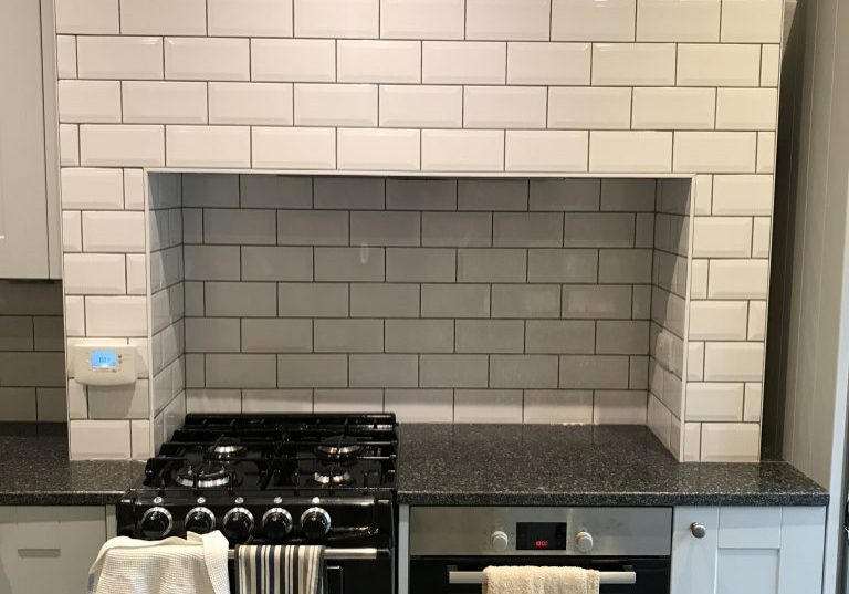 Metro kitchen tiles in Derbyshire by Andy Coldwell